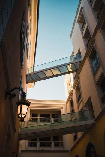 Italy Architecture EyeEm Selects Architecture Building Exterior Built Structure Low Angle View Window Balcony Sky Day Clear Sky No People Residential Building Outdoors City