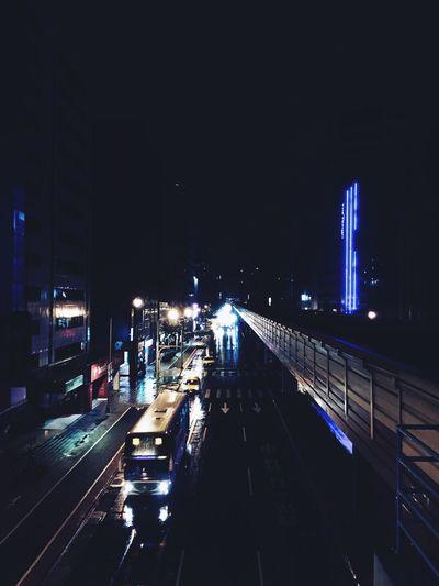 "Pretty great night with the movie ""La La Land"". Night City Jazz Music Rainy Day Classic Romance"