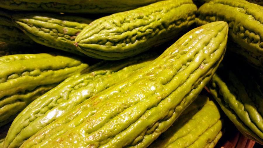 Full frame shot of green vegetable for sale in market
