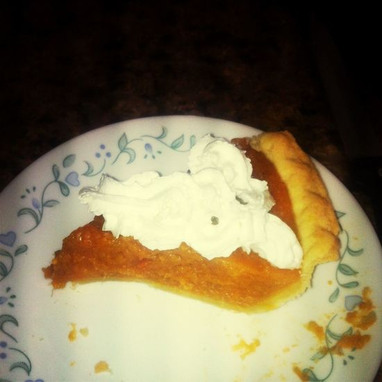 Sweet potato pie!!