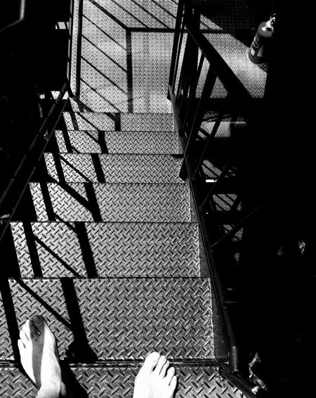 The City Light IPhoneography Emergency Stairs