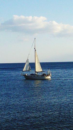 Sea And Sky Sea Sailing Having A Great Time