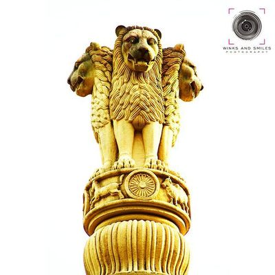 "~~~~~~~~~~~~~~~~~~~~~~~~~~~~~~~ 🙏🇸🇦🇹🇾🇦🇲🇪🇻🇦🔸🇯🇦🇾🇦🇹🇪🙏 ~~~~~~~~~~~~~~~~~~~~~~~~~~~~~~~ 'THE LION CAPITAL OF ASHOKA' -- THE NATIONAL EMBLEM OF INDIA ~~~~~~~~~~~~~~~~~~~~~~~~~~~~~~~ CAPTURED AT KAMALA NEHRU PARK, MUMBAI ~~~~~~~~~~~~~~~~~~~~~~~~~~~~~~~ The Lion Capital of Ashoka is a sculpture of four Indian lions standing back to back, on an elaborate base that includes other animals. It was adopted as the official Emblem of India in 1950. The four Asiatic lions standing back to back - symbolize power, courage, pride, and confidence. At the bottom it has 1 horse and a bull, at its centre it has a beautiful wheel (Dharma chakra). The abacus is girded with a frieze of sculptures in high relief of an elephant (of the east), a bull (of the west), a horse (of the south), and a lion (of the north), separated by intervening wheels, over a lotus in full bloom, exemplifying the fountainhead of life and creative inspiration. Carved out of a single block of polished sandstone, the capital is crowned by the Wheel of the Law (Dharma Chakra). In the emblem adopted by Madhav Sawhney in 1950 only three lions are visible, the fourth being hidden from view. The emblem forms a part of the official letterhead of the Government of India, and appears on all Indian currency as well. It also sometimes functions as the national emblem of India in many places and appears prominently on Indian passports. The ""Ashoka Chakra"" (wheel) from its base has been placed onto the centre of the National Flag of India. ~~~~~~~~~~~~~~~~~~~~~~~~~~~~~~~ All images are subject to ©copyright No repost, regram or reproduce without prior permission All rights reserved ~~~~~~~~~~~~~~~~~~~~~~~~~~~~~~~ SatyamevaJayate Thelioncapital GOI Ig_india Indiangovernment Governmentofindia @ig_india Officialemblemofindia Ashoka Ashokachakra History 1950 Maharashtra_ig Convexrevolution Salisonline Indianphotographer Photographers_of_india Yin_india Kamlanehrupark Patriotism Pillar Click_india_click _oye Everydaymumbai Framesofindia Things2doinmumbai"