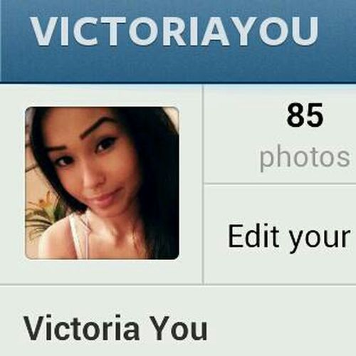 Follow Me On Instagram: @victoriayou