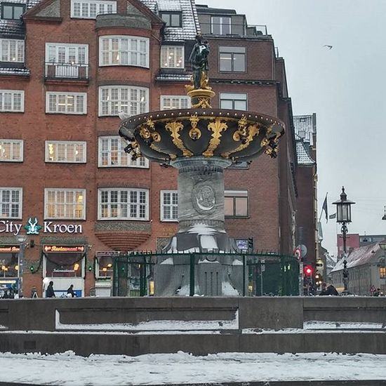 Fountain Suihkulähde Fuente Fontaine Gammeltorv Copenhagen Denmark Igerscopenhagen Igersdenmark Visitdenmark