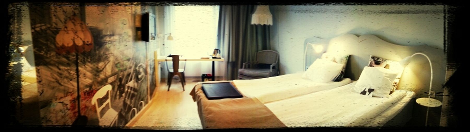 Soon I will be working more in this place ;-) Hotel Room Scandic Malmen