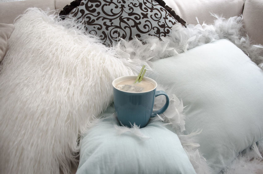 Cup of tea Tea Coffee - Drink Coffee Cup Decoration Drink Fluffy Food And Drink Furniture Indoors  Refreshment