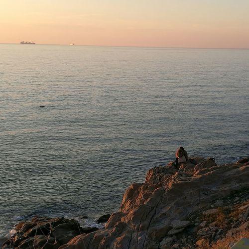 Romantic Sunset Landscape