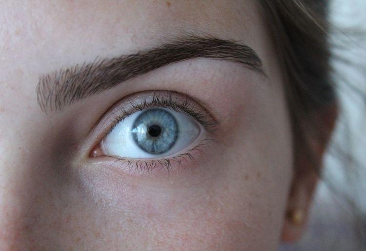 Myeye Human Eye Girleye Blueeye Blue Blueisthecolour Selfie Canon1300d 18-55mm Eyebrow The Portraitist - 2017 EyeEm Awards Canonphotography Canon Close-up Portrait Eye Eyeblue Blue Eyes :)