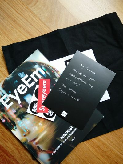 Thanks EyeEm for this wonderful gift! Couldn't be happier!
