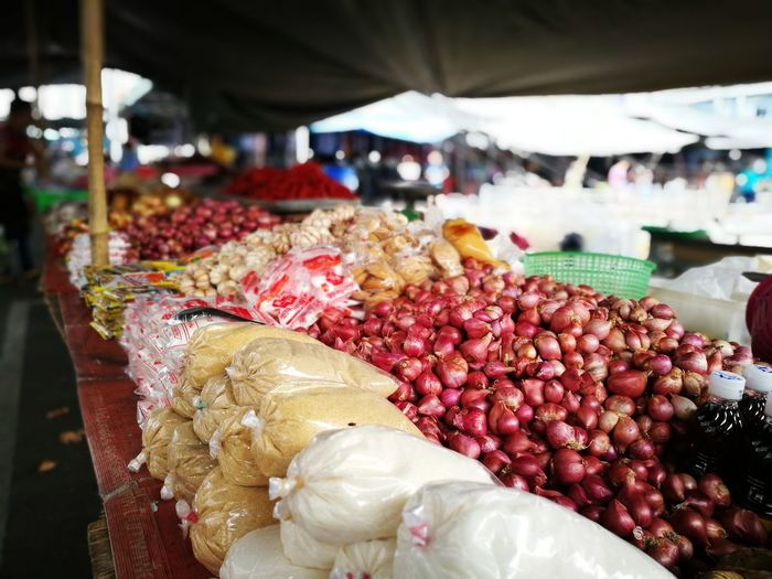 Fruits for sale in market