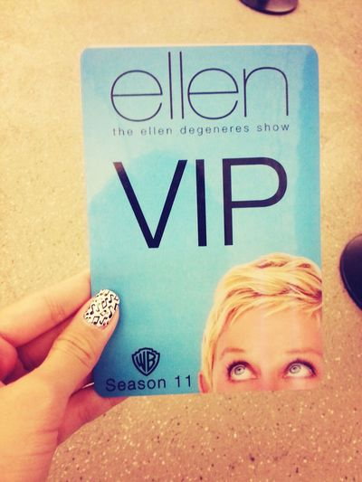 OMG!!! THANKS SO MUCH DAD! ♥♥♥♥ ELLEN Ellenshow Theellenshow Vip