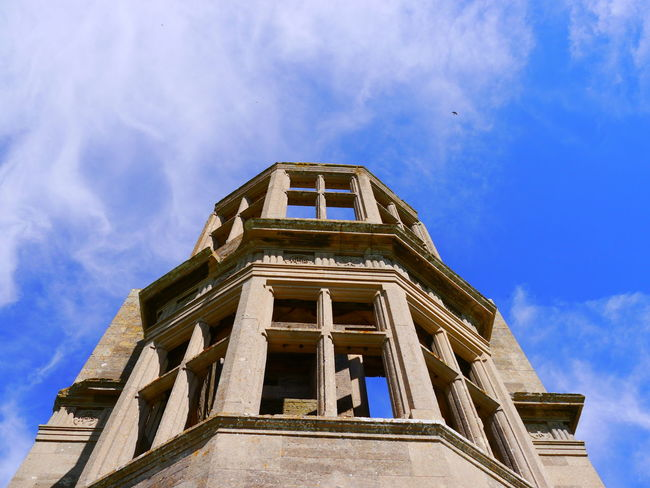 Architectural Column Architecture Building Exterior Built Structure Cloud - Sky Day Low Angle View Lyveden New Bield National Trust National Trust 🇬🇧 No People Outdoors Sky