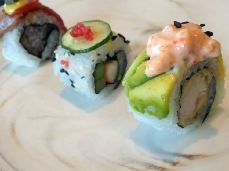 Seafood Rolled Up Food And Drink Food Meal Gourmet Healthy Eating Freshness Savory Food Ready-to-eat Appetizer Close-up Plate Indoors  Tradition No People Sushi Healthy Lifestyle Day Sushi