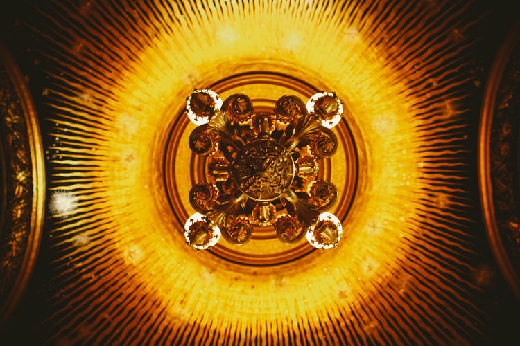 Abstract Arts Culture And Entertainment Ceiling Chandelier Circle Close-up Design Detail Directly Above Glowing Indoors  Metal 43 Golden Moments No People Old-fashioned Opera Garnier Opera House Pattern Single Object Spiral Spiral Staircase Staircase Still Life Studio Shot Ópera De Paris