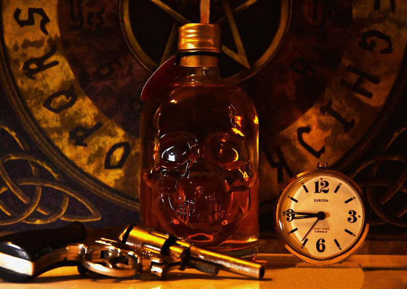 World With Out End Ouija Board  Antique Bottle Clock Clock Face Close-up Darkart Day Filament Hour Hand Indoors  Minute Hand No People Old-fashioned Ouija Retro Styled Roman Numeral Time