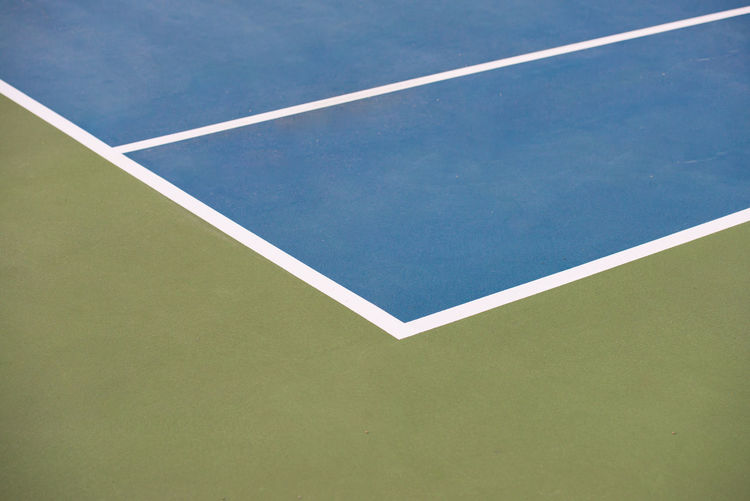 Full frame shot of tennis court