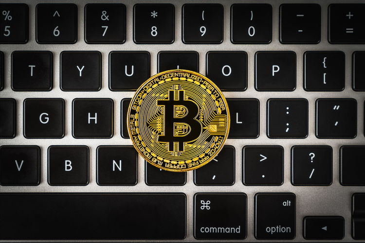 Cryptocurrency Coins CryptoCoin Currency High Quality Above Angle Bird View Preserve Bitcoin Computer Crypto Crypto Currency Cryptocurrency Decentralized Digital Currency Digital Currency Digital Payment Finance Indoor Indoors  No People Technology