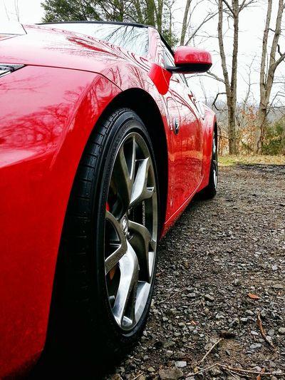 Wheel! 370z Wheel Nissan 370Z Sportscar Diminishing Perspective