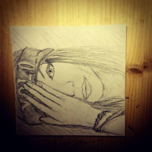 Draw A Friend Art Night Girl