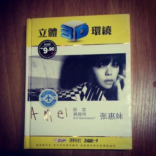 """Another collection of """"her"""" musics ?? Ahmei Taiwan DVD Live mtv love song fans"""