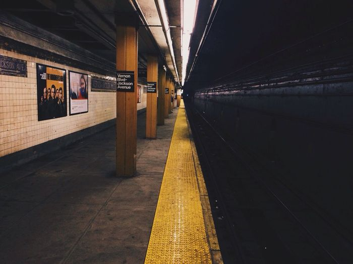 Notes From The Underground United States New York Night Train