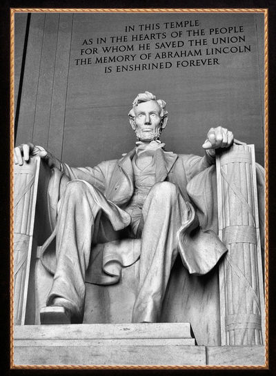 Four score and seven years ago... Historic Figure Lincoln President US President Washington, D. C. Abraham Lincoln Carving Close-up Day Famous People Historic Inspiration Inspiring Memorial No People Outdoors Political Sculpture Statue Stone