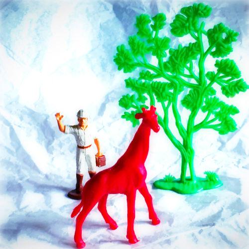 Having Fun Good Times Enjoying Life Hard Color :-) Toy Photography
