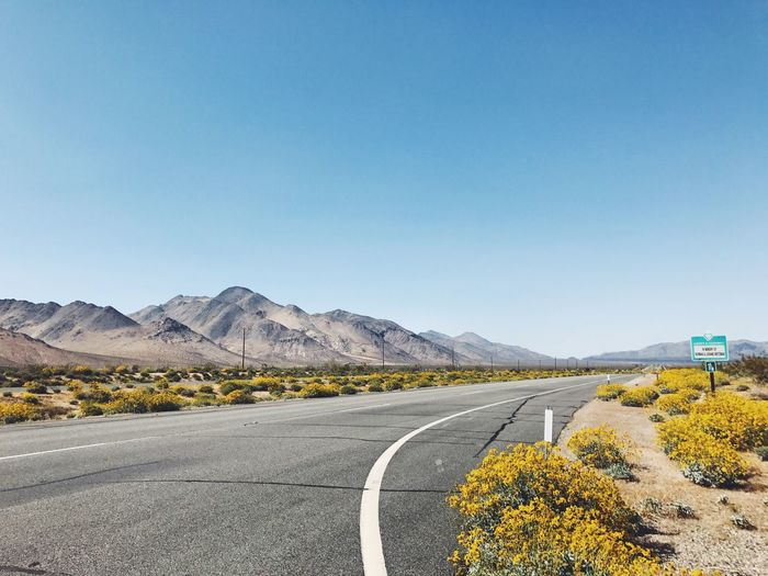 Roadtrippin' Road Clear Sky Landscape No People Outdoors Scenics Mountain Road The Way Forward Nature Roadtrip Nevada California EyeEmNewHere Deathvalley Scenic View Nature Vscocam Travel Destinations Dessert Loneliness Lonelyplanet Roadtomandalay Sierra Nevada Easternsierra