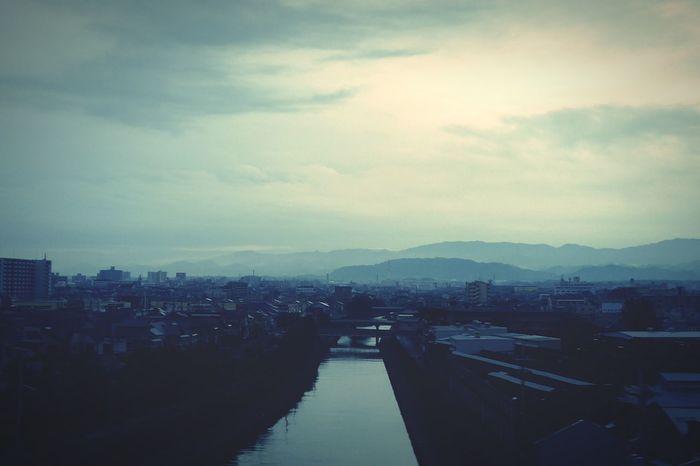 Morning, Kishiwada. Osaka 大阪 Japan Leica DMC_CM1 Good Morning Cityscapes Traveling River View Hello World Taking Photos
