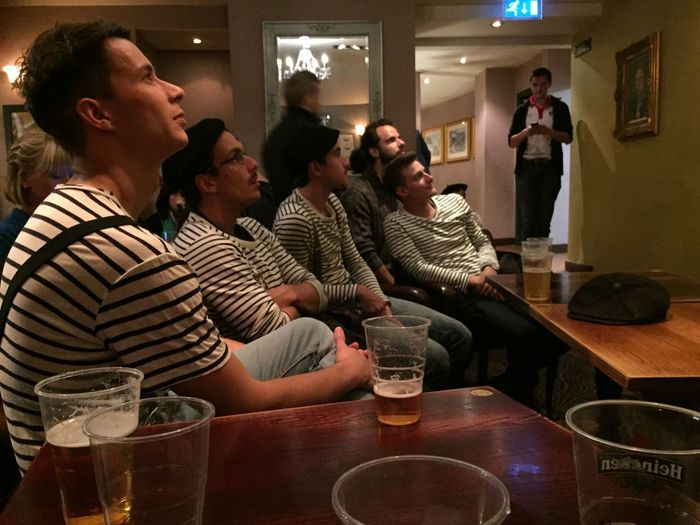 French watching the rugby RWC2015 Rugby Night Out Streetphotography Street Photography