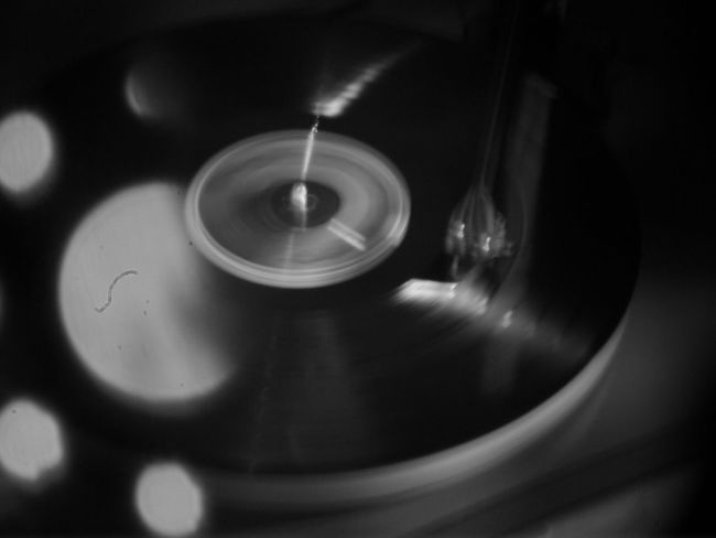 turntable plays a record funky HipHop Style Rock Rap BEATS Techno Party Funky Music Rockabilly Record Player Reflections Holga Photography HolgaArt Holga Gramophone Arts Culture And Entertainment Close-up Music Record Player Needle
