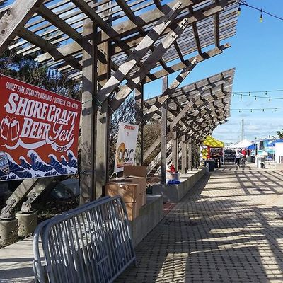 Are you ready? ShoreCraft Beer Fest 2015 starts at 12:30 today.... Oceancitycool OceanCity Maryland Ocmd shorecraft beerfest