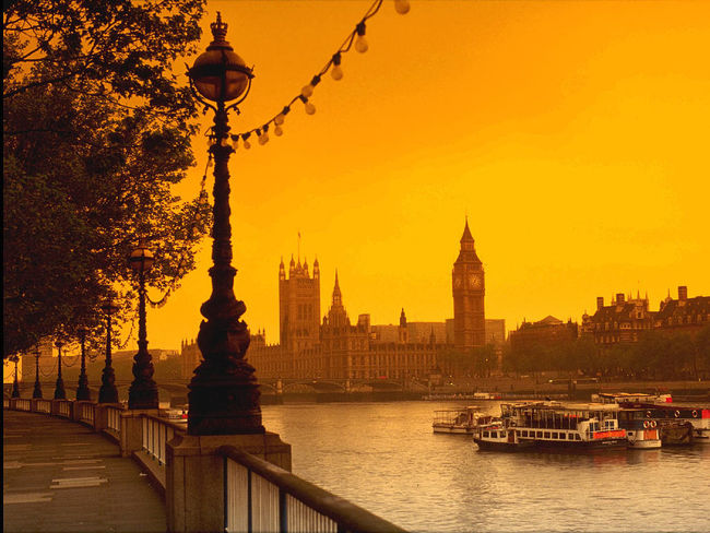 Londres Sunset Bigben