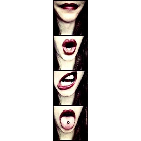 Read My Lips Lips Lipstick EyeEm Best Shots Lipstick ♥ Red Red Lips Me Self Portrait Self Selfportrait Selfie ✌ Selfie ♥ Love It Love It ❤ Mouth Movement Change Strip Tounge Tounge Out  Tounge Ring Modern Unique Pictures For Homeless Veterans