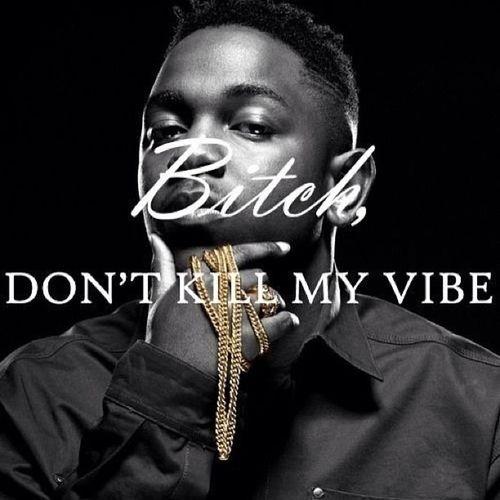 Dont Kill My Vibe