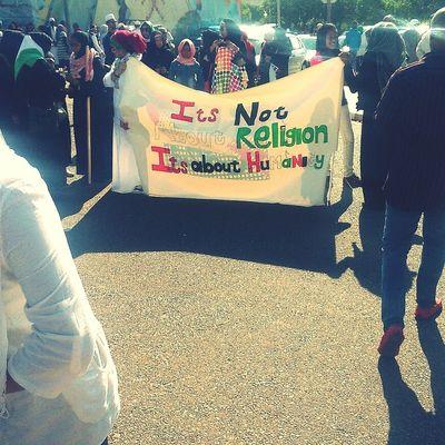 Freegaza Freepalestine Marching Where Is The Humanity?