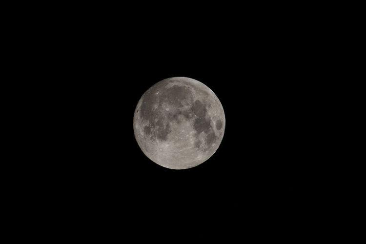 Chicago Full Moon Night Photography Astronomy Beauty In Nature Circle Copy Space Dark Full Moon Geometric Shape Moon Moon Surface Moonlight Nature Nature, Night Outdoors Planetary Moon Scenics - Nature Shape Sky Space