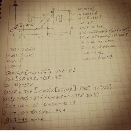 University Engineering Mechatronics Calculus Mathematics Homework