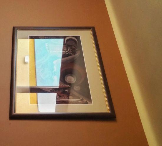 Painting Abstract Art Mirrorworld Mirrors Lines Reflections Walls Rhythm Rhythmic