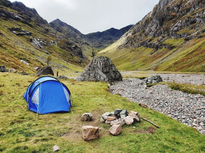 hidden valley ,glencoe ,Scotland Camping Hiking Hike Outdoors Nature_collection Nature Photography Scotland Hiddenvalley Nature Happy Hills Mountains Cloud Mountain Range Backpacking Selfie ✌ Camp Bushcraft Knife Food Mountain Sky Grass Landscape Arid Landscape Tranquility Countryside Scenics Rocky Mountains Tent