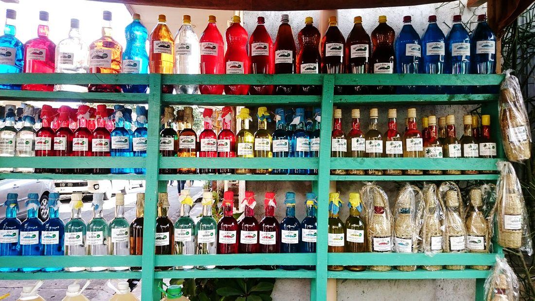 The Shop Around The Corner Lambanog Sugar Cane Vinegar Local Products Pahiyasfestival2016 The EyeEm Collection
