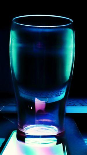 Illuminated No People Indoors  Technology Drink Close-up Laboratory Day
