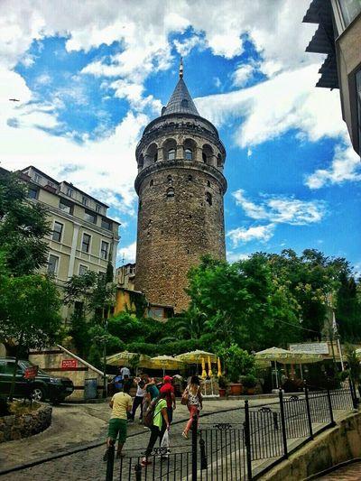The Great Outdoors - 2015 EyeEm Awards Istanbul City Turkey Taking Photos Street Life Galatatower