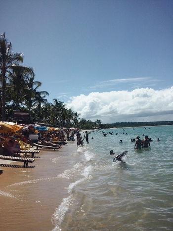 Hello World Relaxing Enjoying Life Tourism Sand Beach Sea South America Planning A Trip Brazil