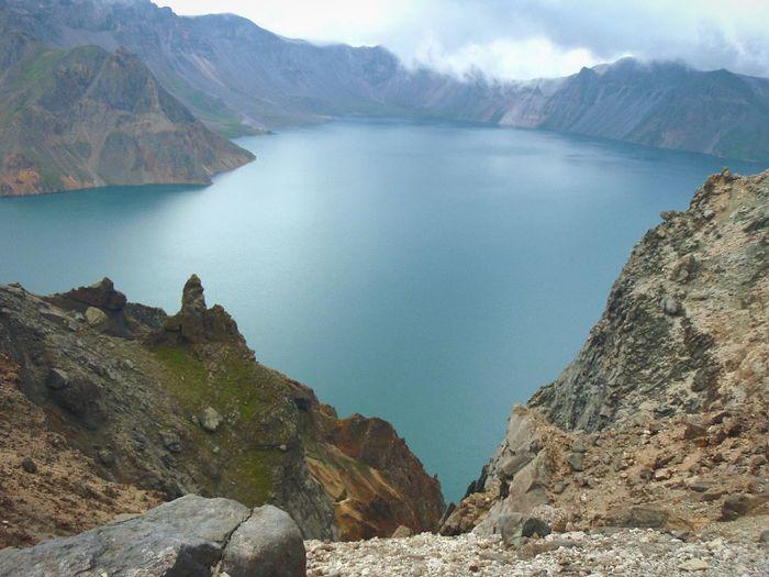 Mountain Paektu Baekdo Crater Lake Geography Memory Travel Korea