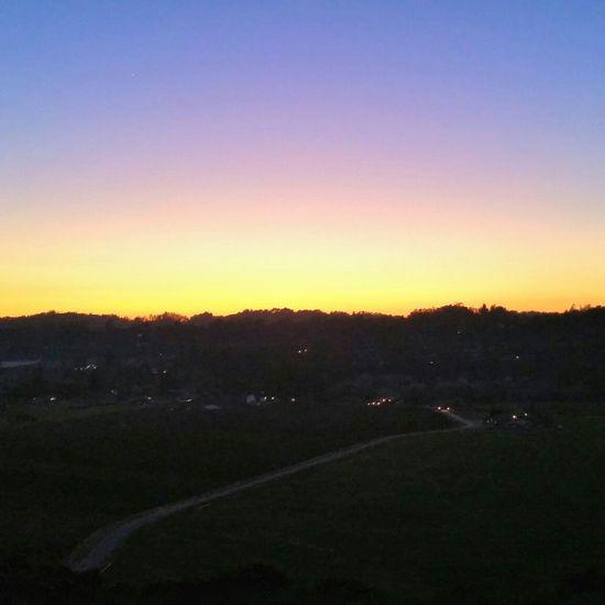 sunset over the apple orchard Sunset Coralitos Aptos Santacruzmountains Taking Photos Enjoying Life Goodlife