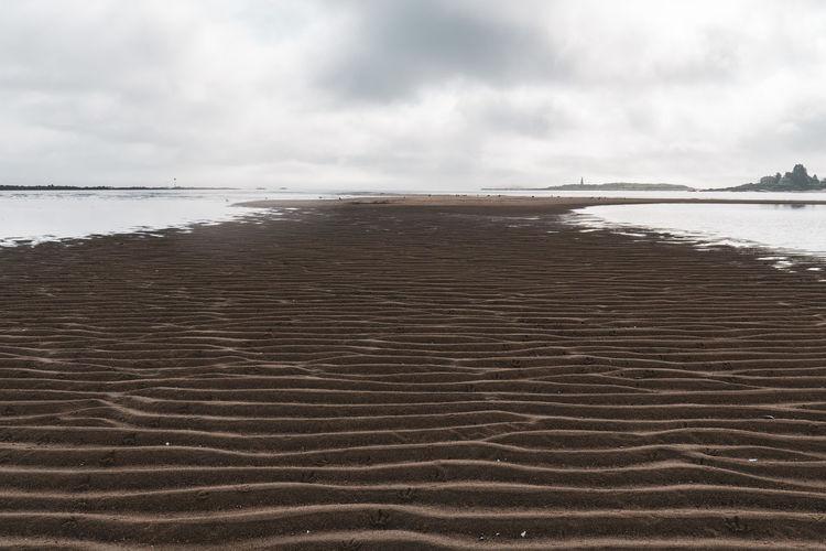 sand bank at