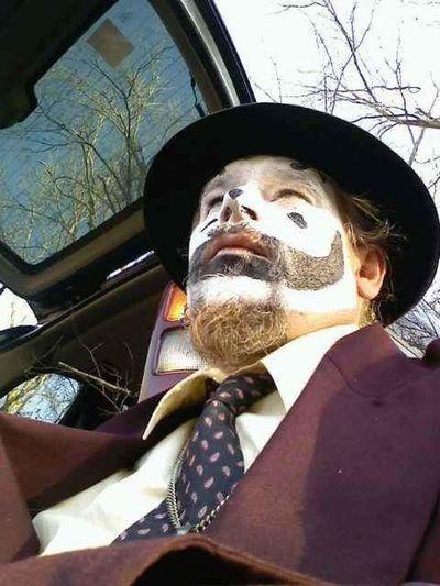 One Person Selfie ✌ Selfpotrait Suit&tie Juggalo Juggalolife Juggalofamily Juggalo Pride