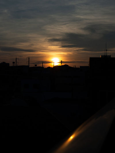 夕刻 Olympus Olympus Om-d E-m10 EyeEm 夕焼け 夕陽 Sunset_collection Sun Sky Sunset Dramatic Sky
